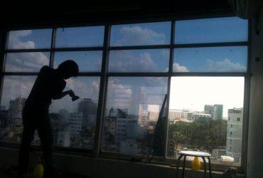 Hướng dẫn cách dán giấy dán kính chống nắng